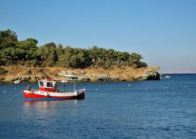 Agia Perlagia, Capsis halvøen