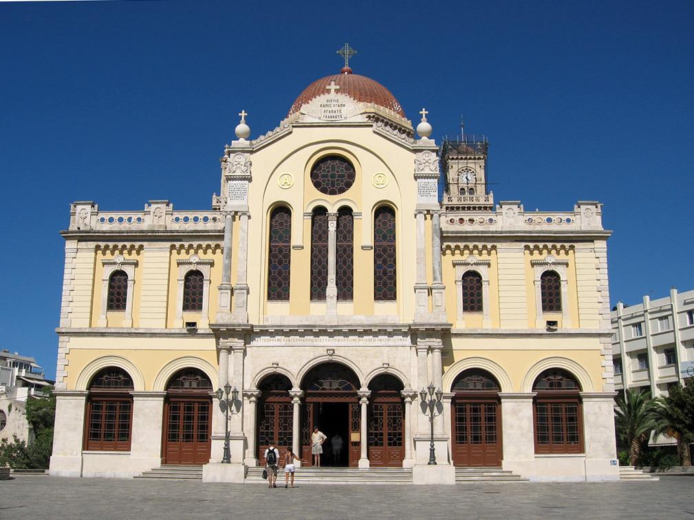 Heraklion, Katedral Agios Minás