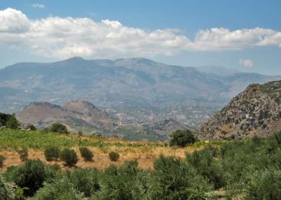 Landskab syd for Heraklion