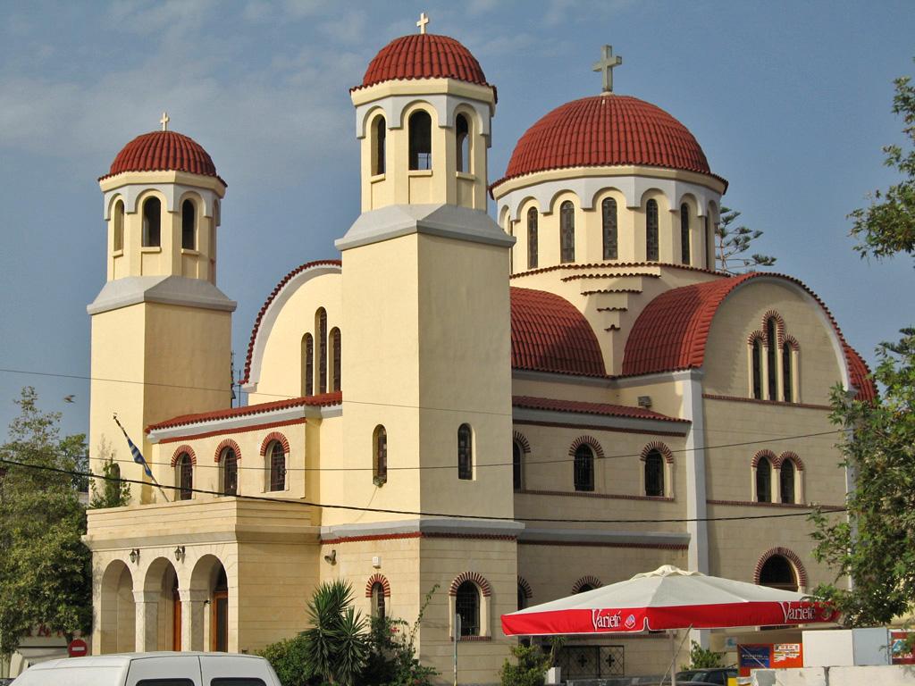 De fire martyres kirkes i Réthymnon
