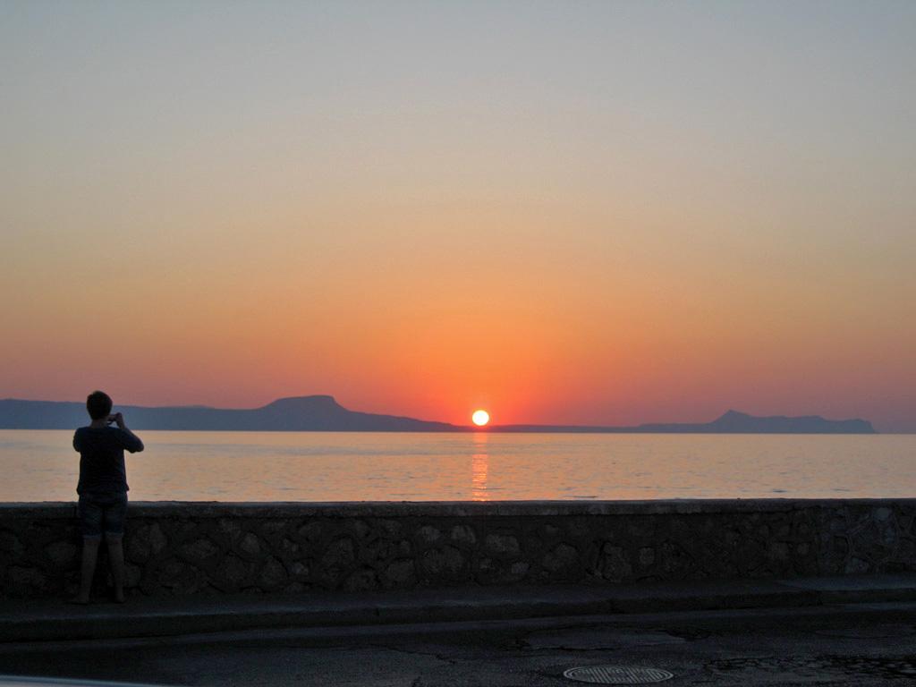 Solnedgang Rethymnon