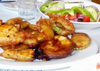 Fried-zucchini-taverna-før-Elafonissi